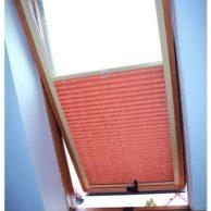 Żaluzja plisowana dachowa